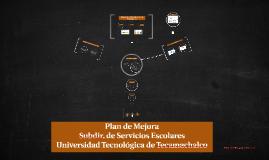 Plan de Mejora