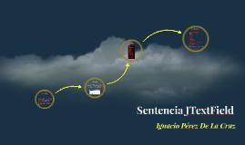 Sentencia JTextField