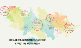 Copy of human environmental factors affecting motivation