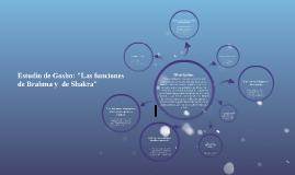 """Estudio de Gosho: """"Las funciones de Brahma y  de Shakra"""""""