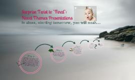 "Novel ""themes"" presentations"