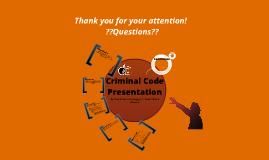 Criminal Code Presentation