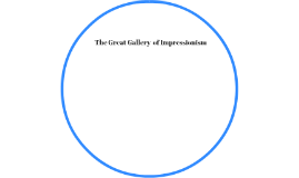 The Great Influence's of Impressioism