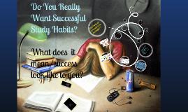 Study Skills Presentation (Study Habits)