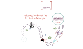 Copy of Pauli and the Atomic Theory
