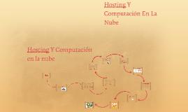 Hosting Y Computación En La Nube