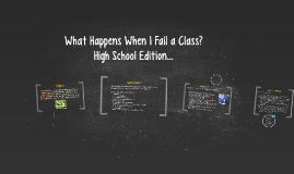 What Happens When I Fail a Class?
