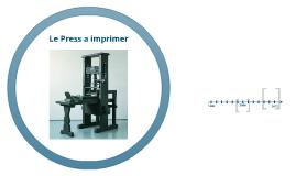 Le press a imprimer
