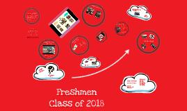 Freshmen Class Presentation