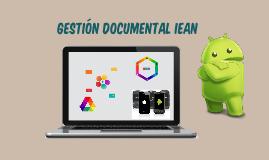 Herramientas de diseño documental IEAN