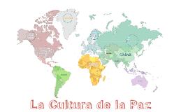 La Cultura de la Paz