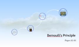 Ch 7:4 Bernoulli's Principle