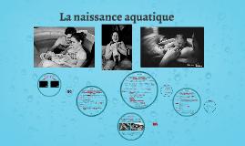 La naissance aquatique