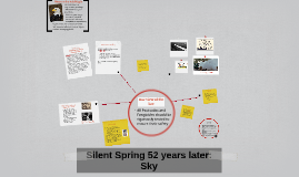 Silent Spring 52 years later: Sky