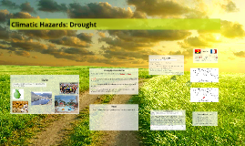 Climatic Hazards: Drought