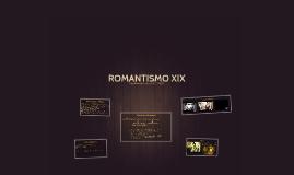 ROMANTISMO XIX
