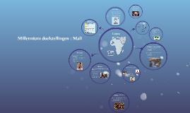Millenium doelstellingen : Mali
