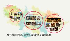 arte medieval, renacentista y barroco
