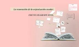 La renovación de la organización escolar: Escuelas graduadas