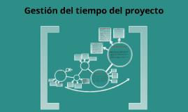 Copy of Gestión del tiempo del proyecto