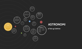 Copy of ASTRONOMY