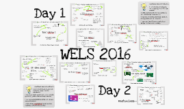 World Education Leadership Summit 2016 Learning map