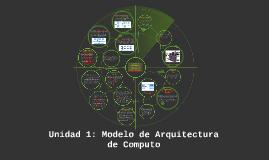 Copy of Unidad 1: Modelo de Arquitectura de Computo