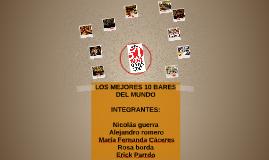 LOS MEJORES 10 BARES DEL MUNDO