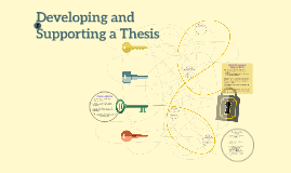 Developing and Supporting a Thesis