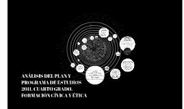 Copy of ANÁLISIS DEL PLAN Y PROGRAMA DE ESTUDIOS 2011. CUARTO GRADO.