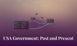 USA Government: Past and Present