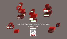 El Recurso CSIC y sus 3 bases de datos.