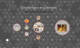 Comida típica en Colombia