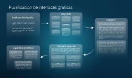 Planificación de interfaces gráficas