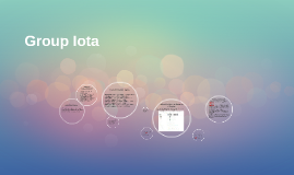 Group Iota