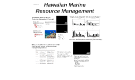 Hawaiian Marine Resource Management