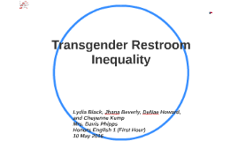 Copy of Transgender Bathroom Inequality