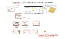 GeoGebra en las aulas de Bachillerato: 3ª Sesión