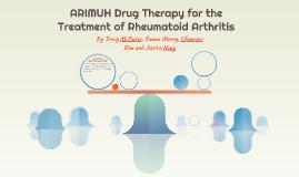 ARIMUH Drug Therapy for the Treatment of Rheumatoid Arthriti