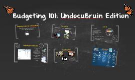 UndocuBruins on a Budget