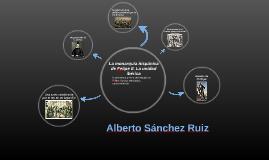 Alberto Sánchez Ruiz