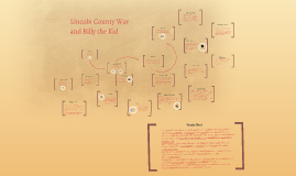 Copy of Lincoln County War and Billy the Kid