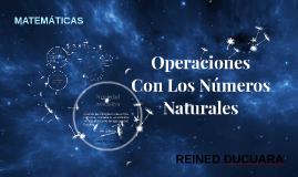 Operaciones Con Los Números Naturales