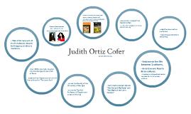 Judith Ortiz Cofer.