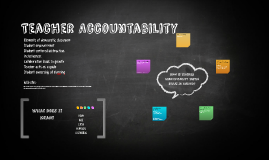 Copy of Teacher Accountability