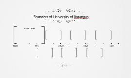 Founders of University of Batangas