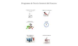 Programa de Teoría General del Proceso