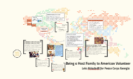 Being a Host Family to American Volunteer