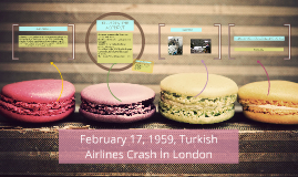 February 17, 1959, Turkish Airlines Crash İn London