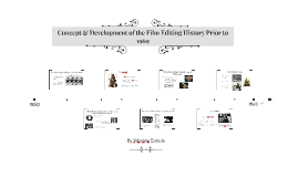 Concept and development of the film editing history prior to
